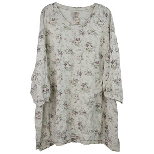 Magnolia Pearl Francis Pullover Tee, Top 885 Blackberry Rose