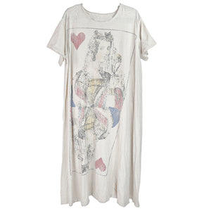 Queen of Heart T Dress, Moonlight