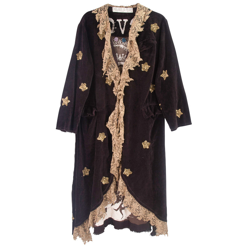 Magnolia Pearl Star Applique Emery Coat, Rooted