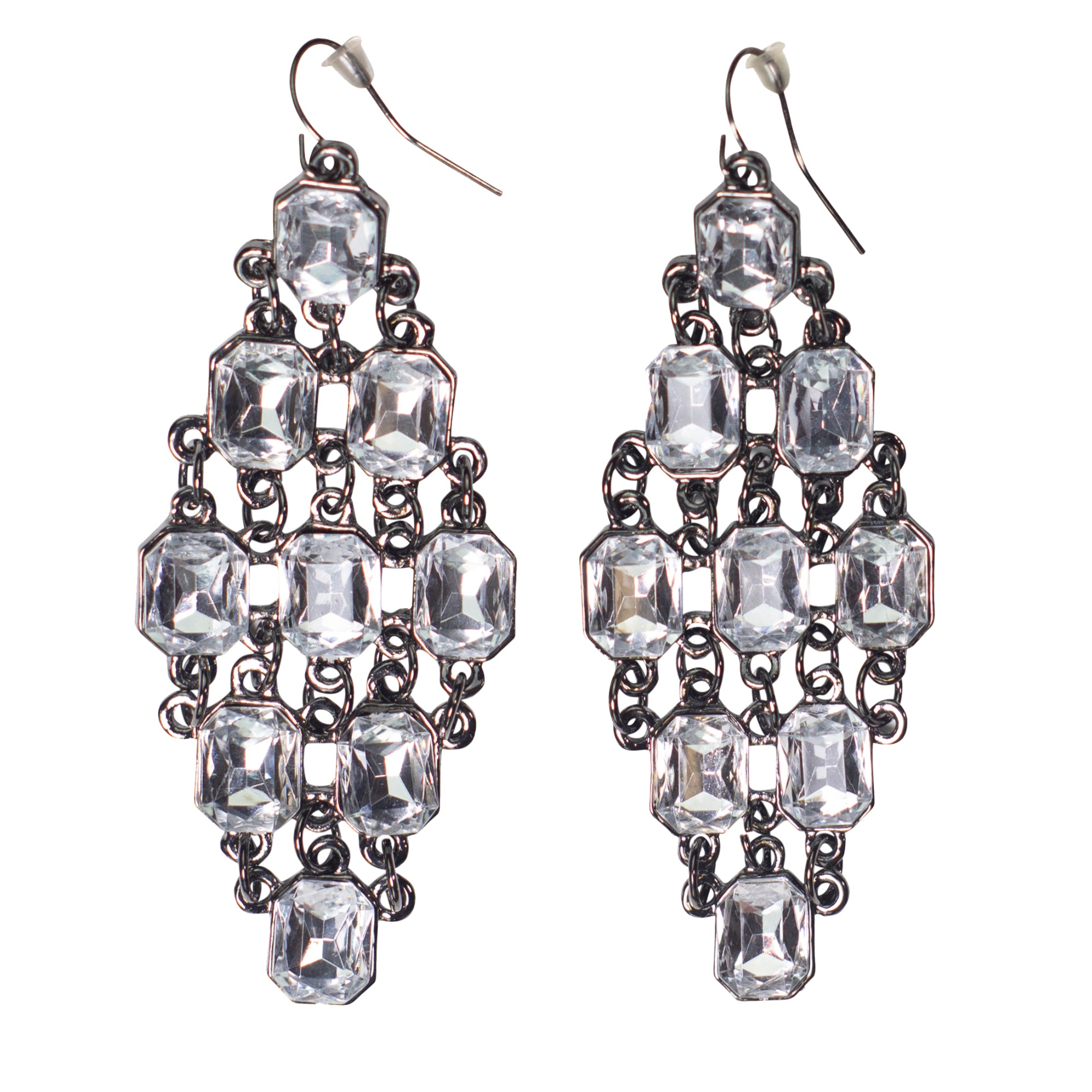 Sparkling Crystal Earrings