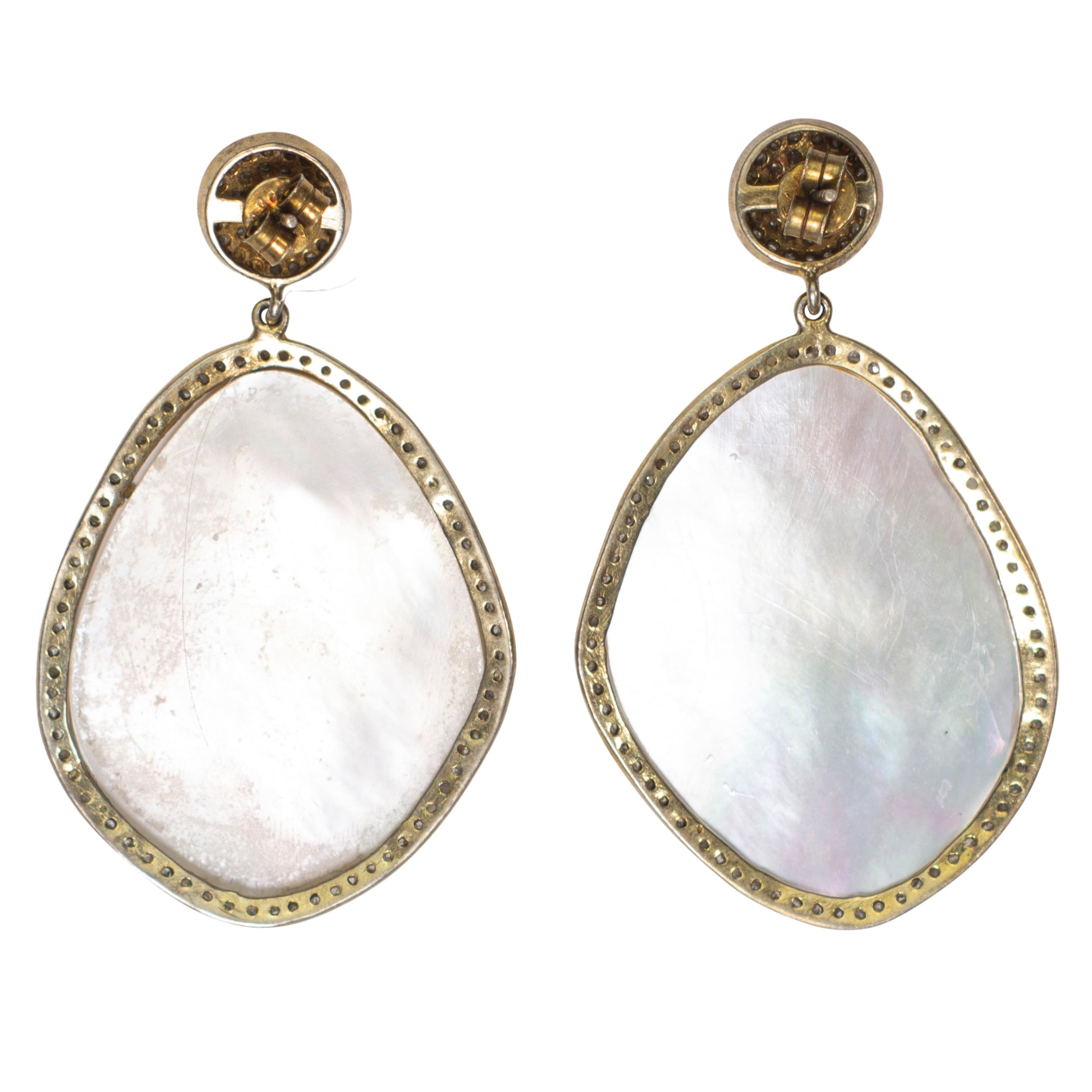 Jolie Mother of Pearl Earrings