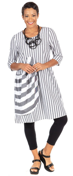 Tulip Pepper Tunic Tommy Stripe