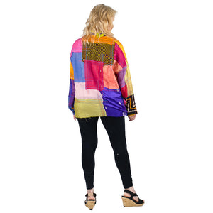 Mieko Mintz Mosaic Patch Top