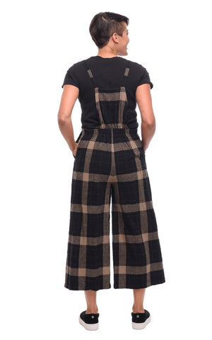 Tulip Ellie Overalls Plaid