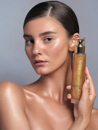 illuminating body oil with 24k gold thumbnail