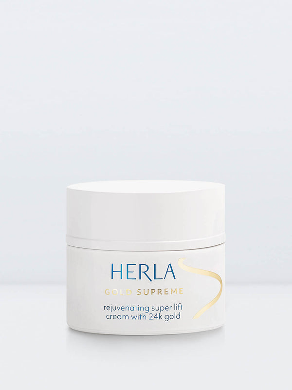 rejuvenating super lift cream with 24k gold