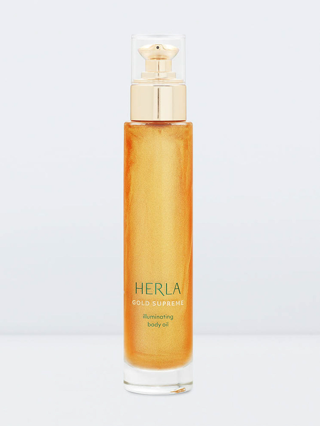 illuminating body oil with 24k gold