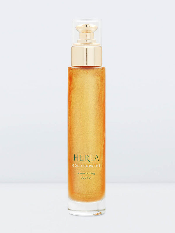 illuminating body oil