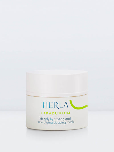 deeply hydrating and revitalizing sleeping mask