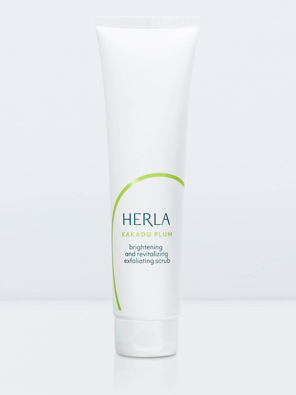 brightening and revitalizing exfoliating scrub