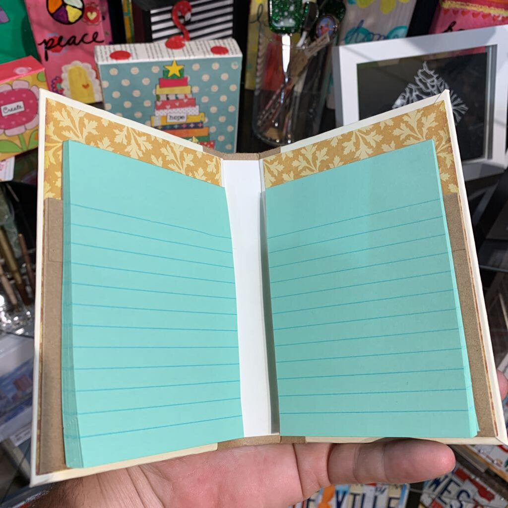 6x4 Double Notepad Book
