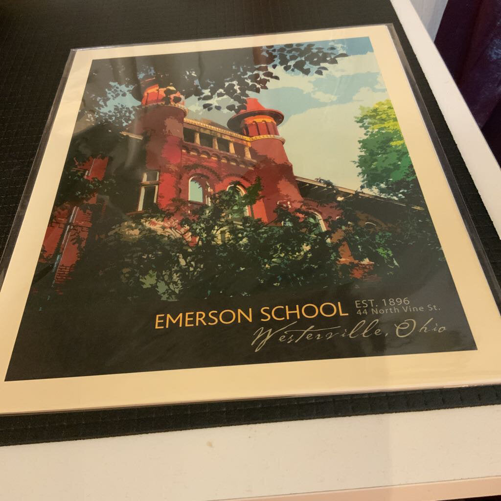 8x10 Print Emerson Towers
