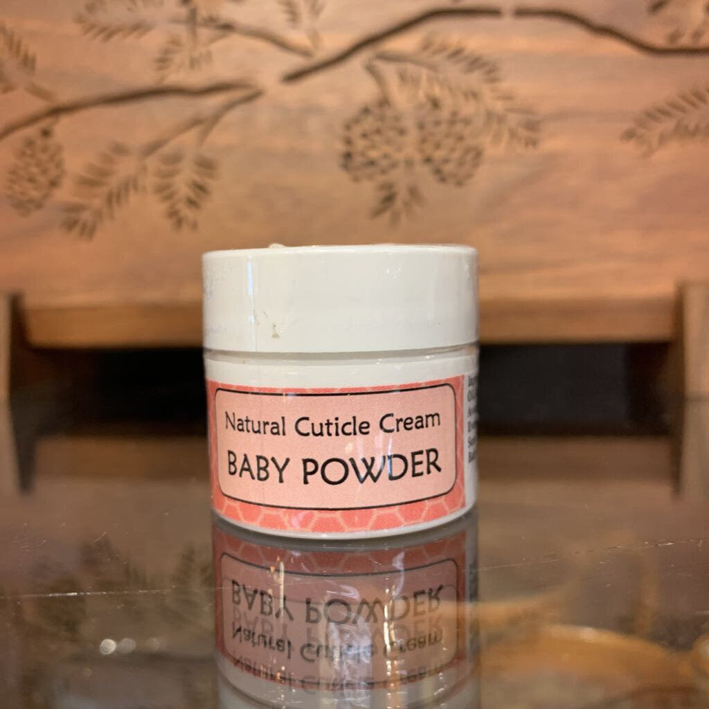 Cuticle Cream Baby Powder