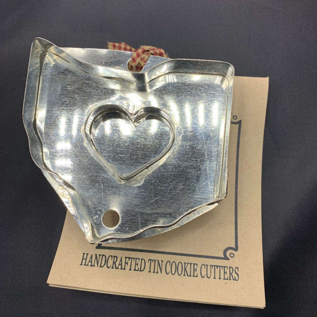 Heart Ohio Cookie Cutter