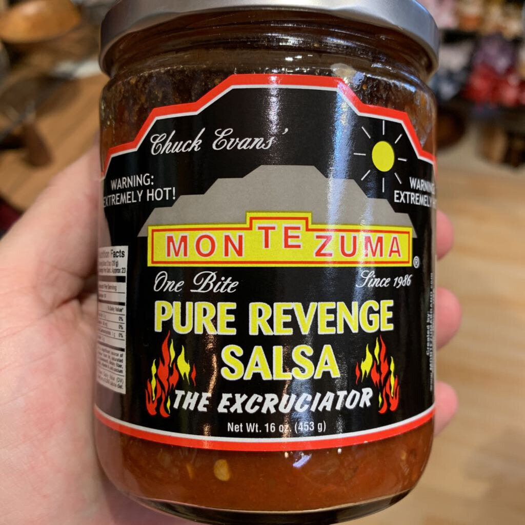 "Pure Revenge ""The Excruciator"" Salsa Warning: Extremely Hot Salsa"