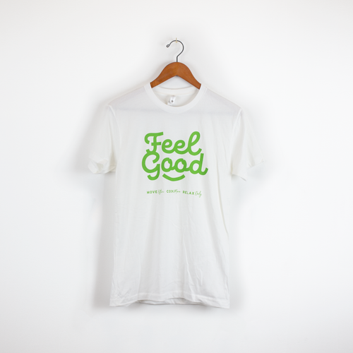 Feel Good Short Sleeve (White)