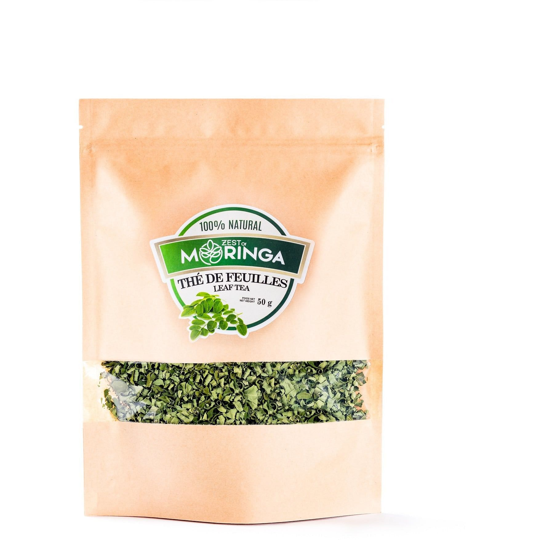 moringa leaf tea bulk bag