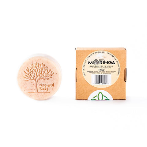 moringa roots powder soap