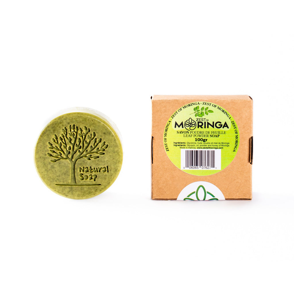 Moringa Soap 100% Pure Raw Natural Moringa Extract