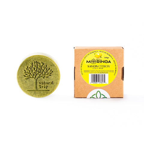 Moringa Oleifera Soap 100% Natural – Lemon