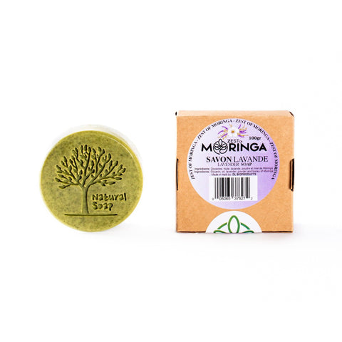 Moringa Soap 100% Pure Raw Moringa Extract -Lavender