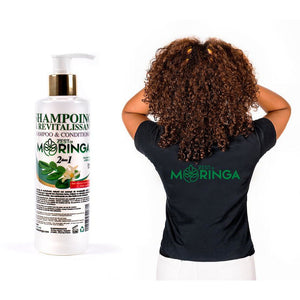 Handmade Moringa 2 in 1 Shampoo/Conditioner- Moringa Shampoo with Benefits of Moringa Oil, Leaf, Flowers Extract Suitable for All Type of Hair - Zest Of Moringa