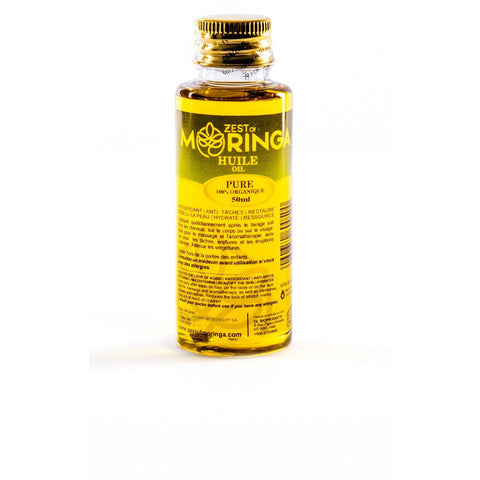 Moringa Oil Antioxidant Serum -Removes Blackheads Reduced Stretch Marks Elasticity Belly Oil - 50ml