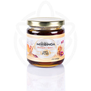 Pure Raw Honey, Natural Royal Jelly, Unfiltered Honey from Moringa Flower Nectar - Zest Of Moringa