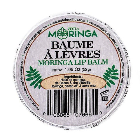 Moringa Lip Balm Hydrating and Moisturizing Made With Moringa Seed Oil
