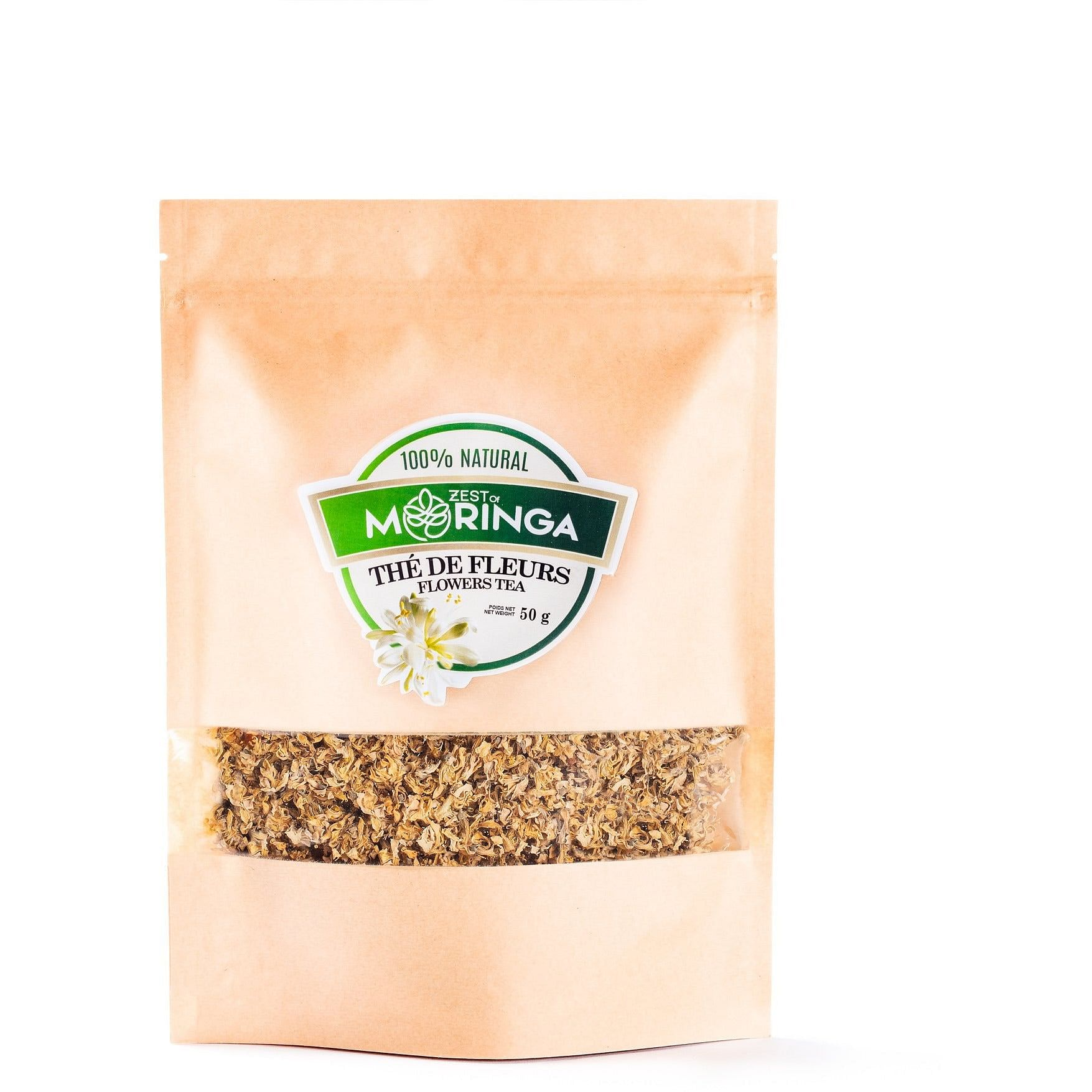 moringa flower tea bulk