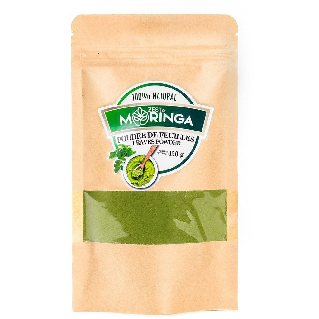 Moringa Leaf Powder - Superfood Protein Powder|Made from Natural Moringa Oleifera powder|Ideal Dietary & Nutritional Supplement|Includes Essential Vitamins,Calcium, Potassium & Anti-oxidants