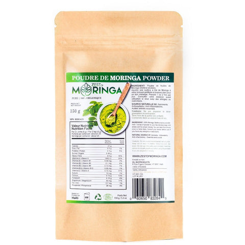 moringa 150g powder bag