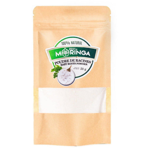 Moringa Oleifera Young Roots Powder - 100% Organic -Natural Source Of Magnesium Selenium