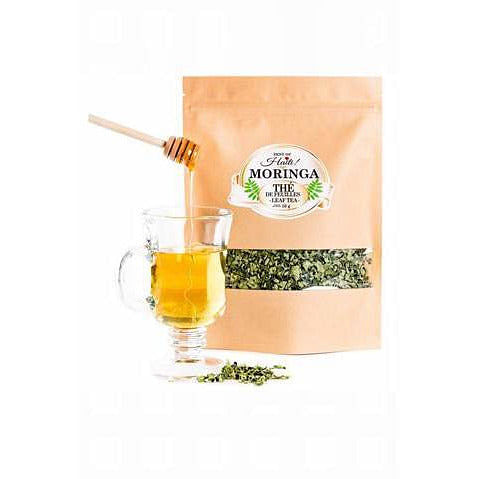 Organic Moringa Oleifera 100% Natural Detox Green Tea - Zest Of Moringa