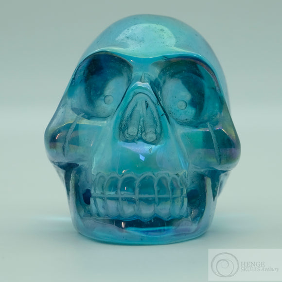 light aqua aura skull front
