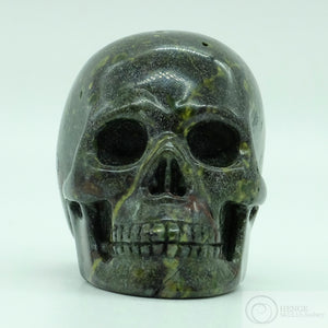 Dragon Bloodstone Skull
