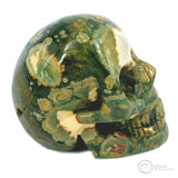 Rainforest Jasper Skull
