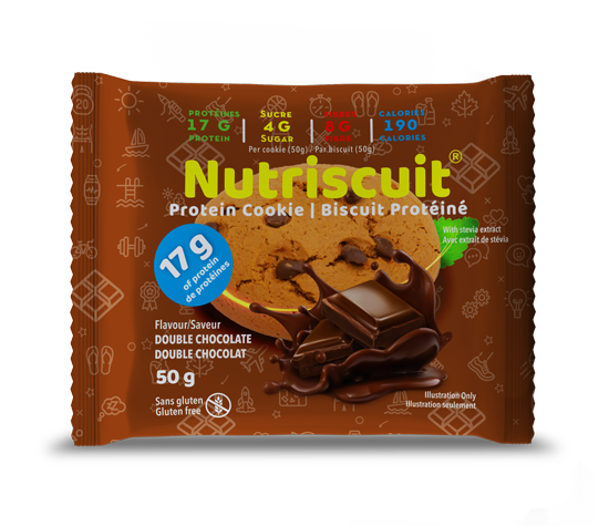 High Protein Double Chocolate Nutriscuit
