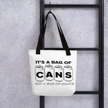 A bag of cans - Tote bag