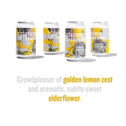 Lemon Elderflower flavor highlights: Crowdpleaser of golden lemon zest and aromatic, subtly sweet elderflower