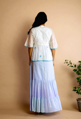 Ara Cape with Long Dress