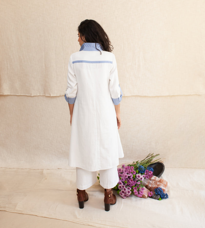 White Jasia Dress and Pants