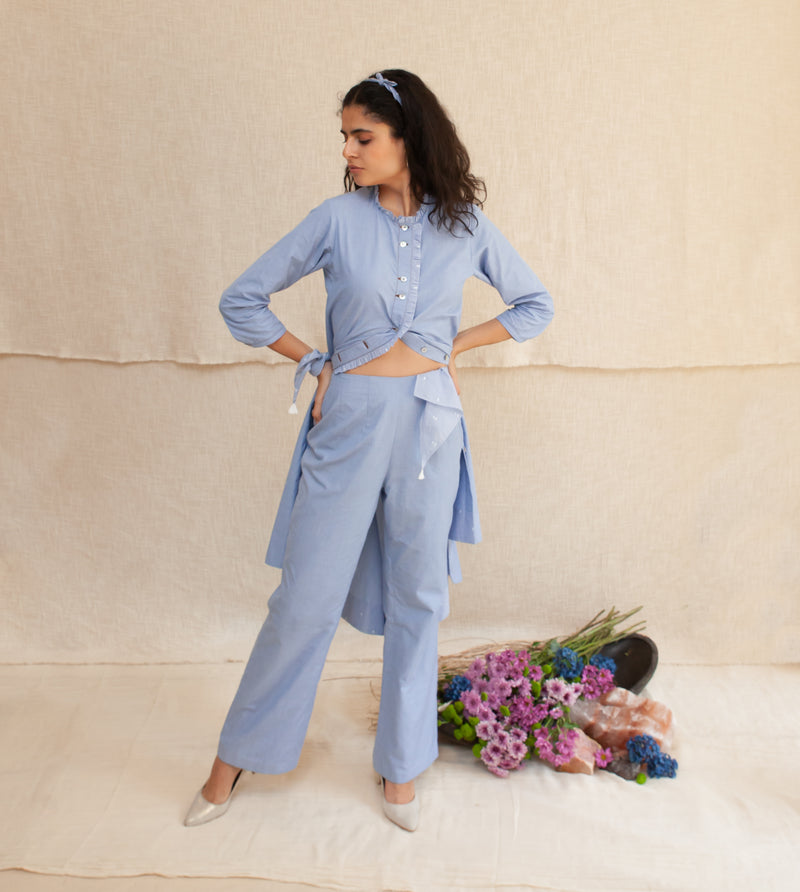 Blue Frost Eva Tunic and Pants