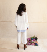 White Ilari Pants