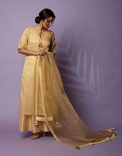 Shamin Tunic with Skirt and Dupatta