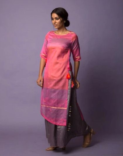 Irsiya Asymmetric Tunic & Skirt