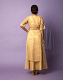 Golden Tunic with Inner and Skirt