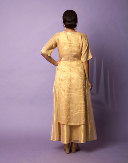 Golden Tunic & Skirt - Ensemble