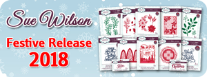 Sue Wilson Festive Collection 2018