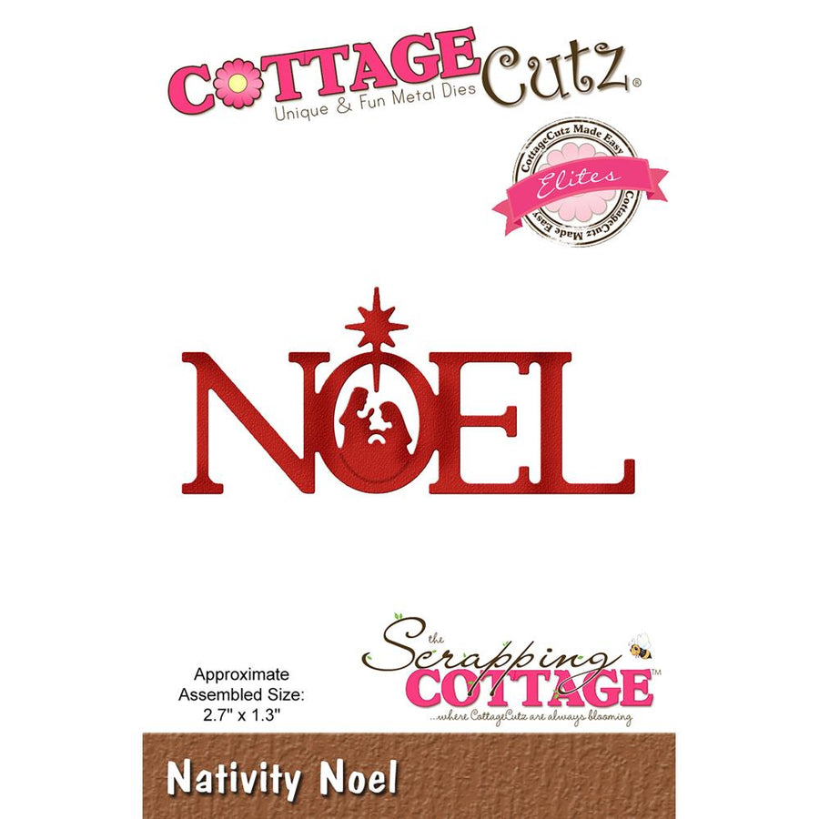 Cottage Cutz Die - Nativity Noel - CCE-522
